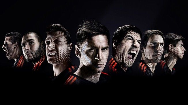 adidas soccer athletes