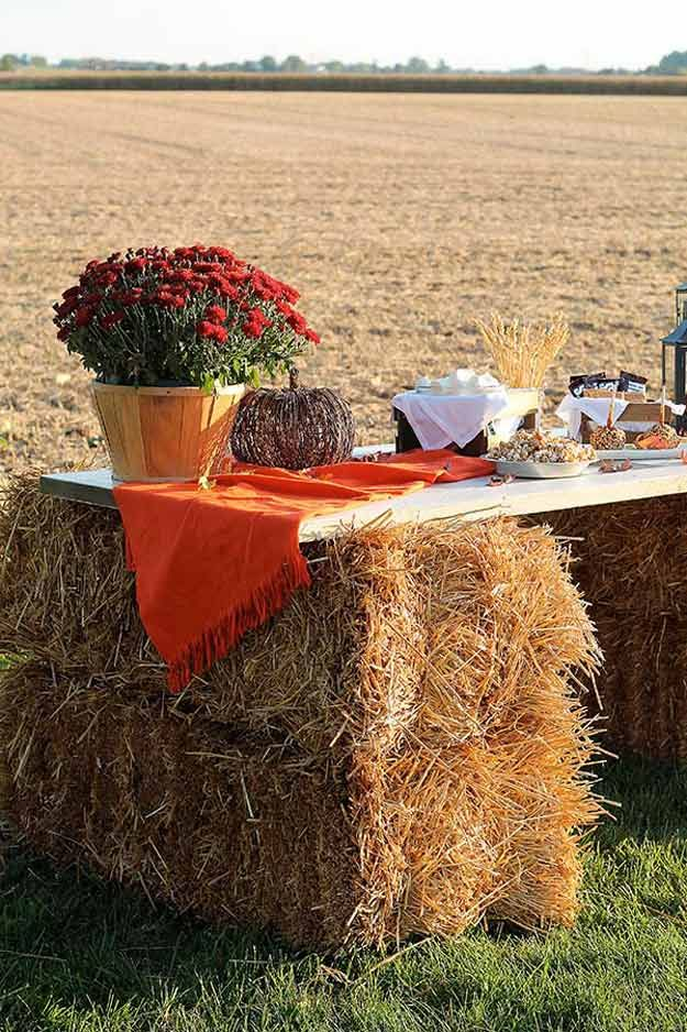 Outdoor Fall Harvest Party Set-Up |How To Throw The Best Fall Harvest Festival On Your Homestead