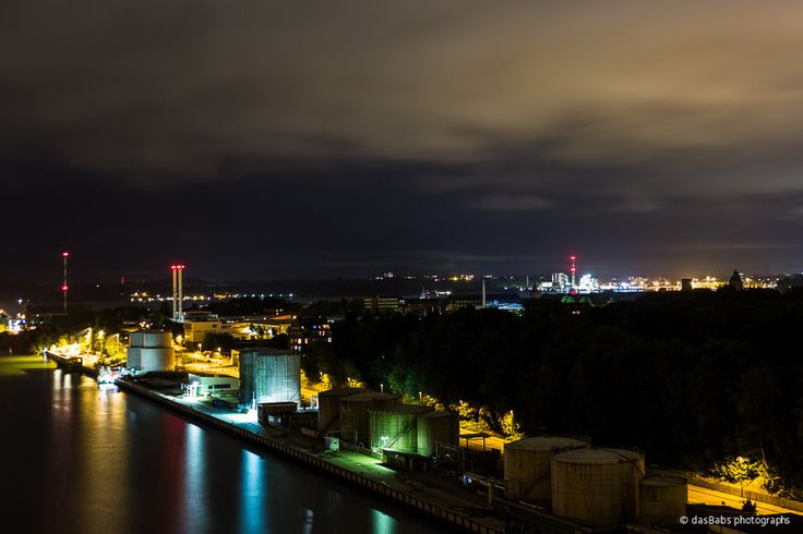 Kiel bei Nacht by Babs Helferich on 500px