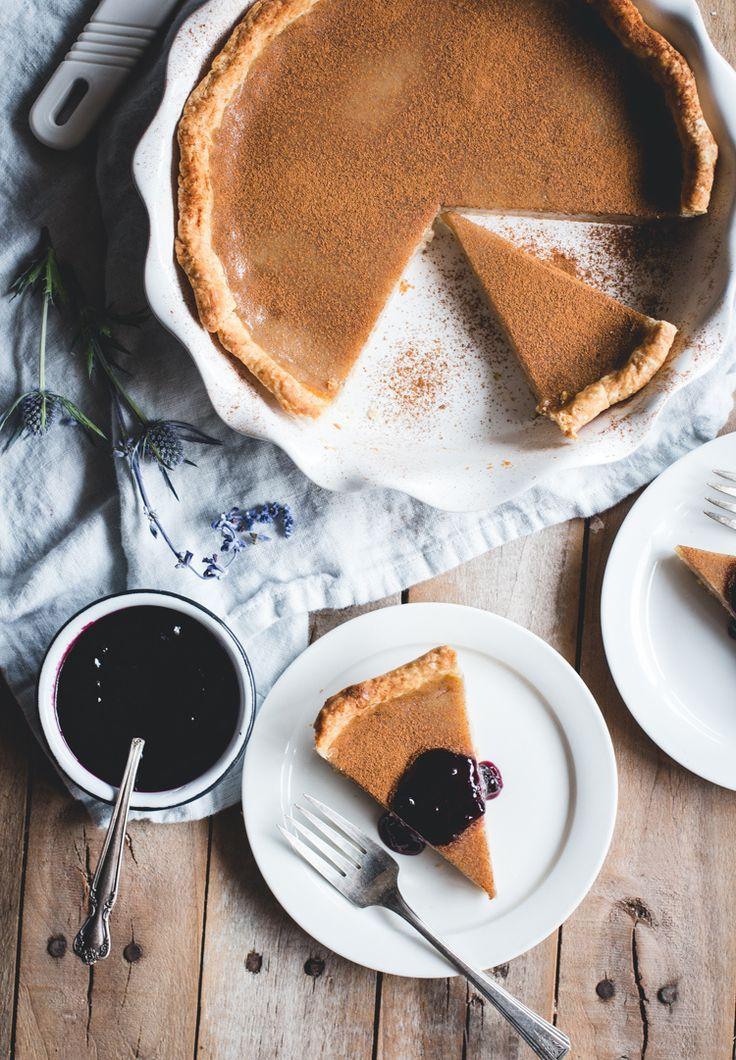 Old-Fashioned Vinegar Pie // butterlust.com @butterlustblog (Don't knock it 'til you've tried it!)