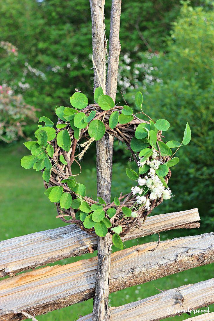 diy sommerkrans // diy summer wreath | wonderwood