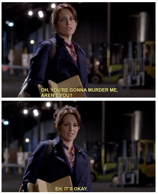 Liz Lemon. 30 Rock.