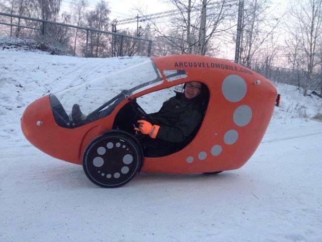 Arcusvelomobile on a ICE Adventure trike.