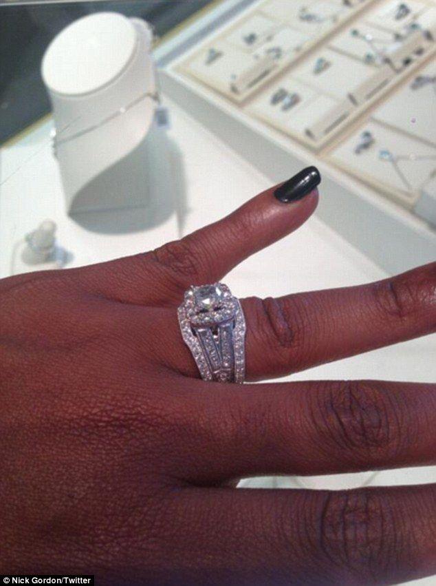 bobbi kristina brown reveals she tied the knot with fianc nick gordon - Wedding Rings Houston
