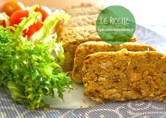 Polpettone vegetariano di ceci e cavolo romanesco: una delizia! #ricette