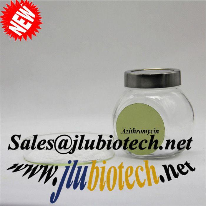 Azithromycin  powder sales@jlubiotech.net