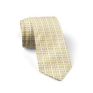 """Silk Tie """"Midas"""" Cyclades"""