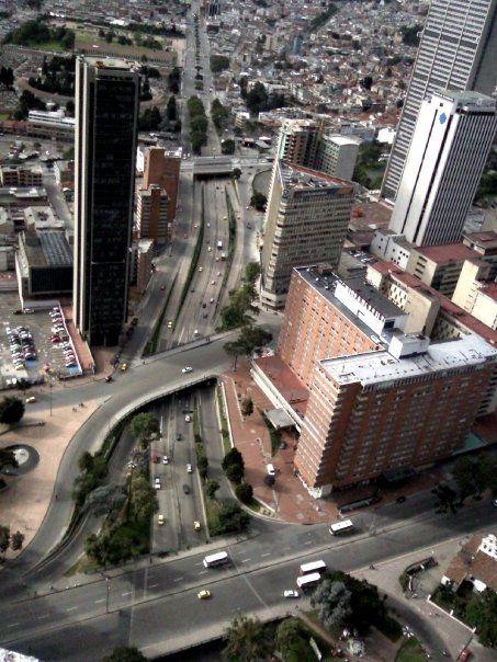Bogotá desde la Torre Colpatria