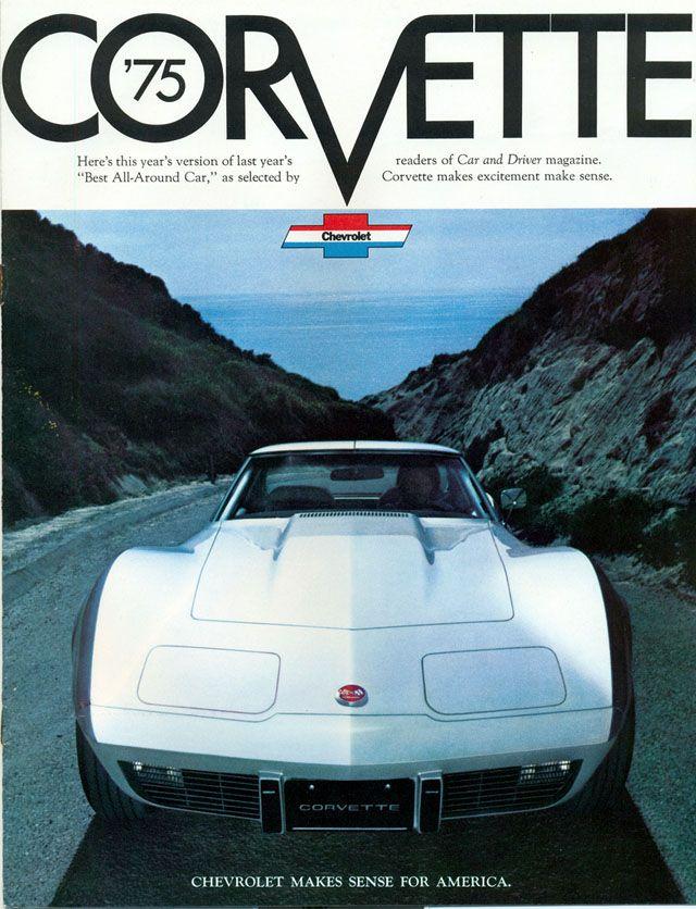 1975 Chevrolet Corvette ad