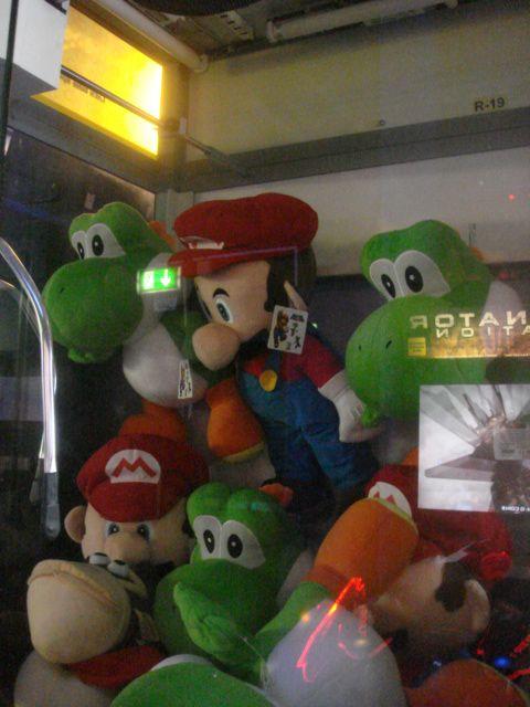 grab a Mario bro