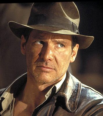 """Harrison Ford on Success    """"I realized early on that success was tied to not giving up. Most people in this business gave up and went on to other things. If you simply didn't give up, you would outlast the people who came in on the bus with you."""""""