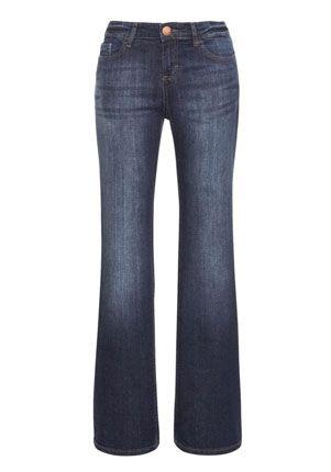 F&F Indigo Wash Bootcut Jeans - £14