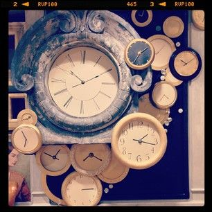 And when one clock WAS SIMPLY NOT ENOUGH.