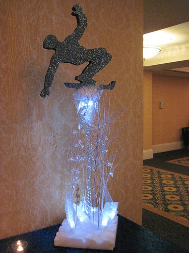 Gold Events decorates a snowboard themed Bar-Mitzvah at the Renaissance Hotel in Providence, RI