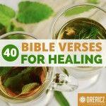 40 Bible Verses for Healing
