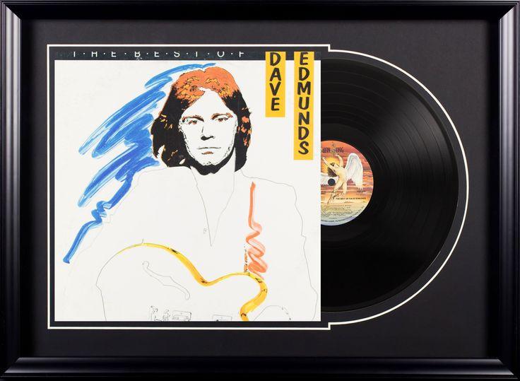 The Best of Dave Edmunds Vintage Album Deluxe Framed