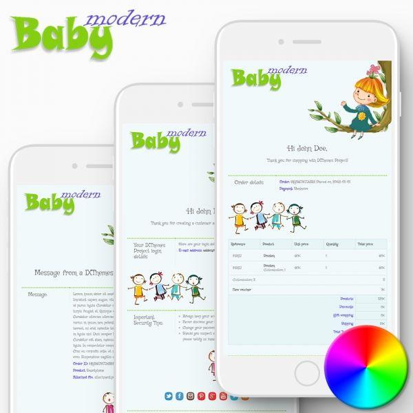 MODERN BABY PrestaShop Email Templates