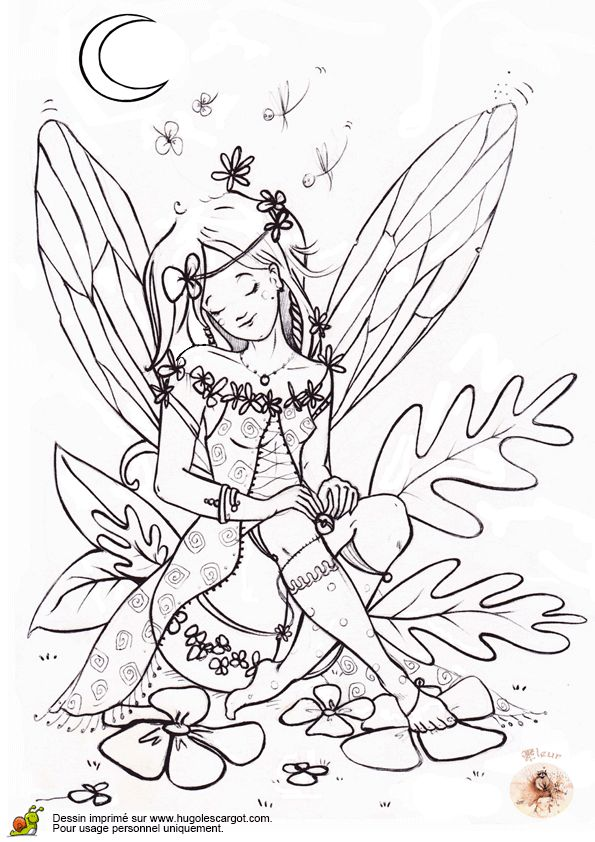 124 Best Fairies To Color Images On Pinterest