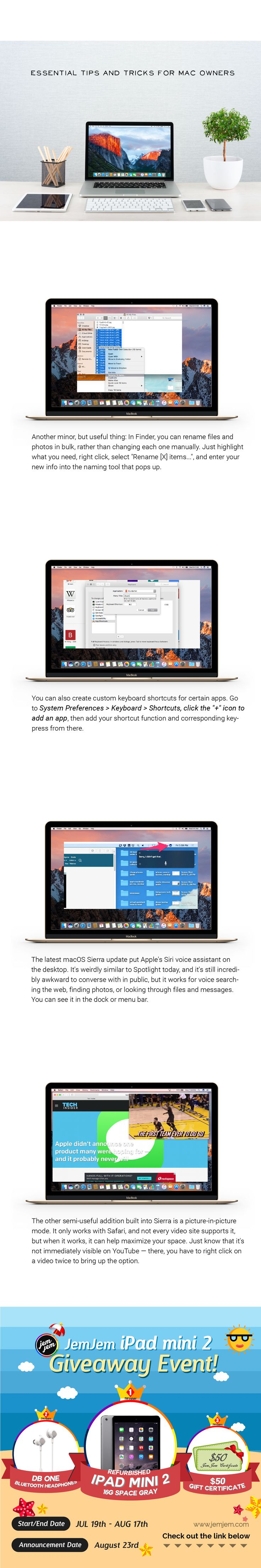 Pin by on apple tips Event giveaways, Summer