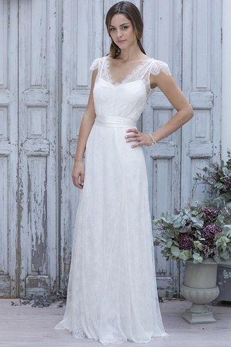 # marielaporte #weddingdress  #bohemian so pretty!