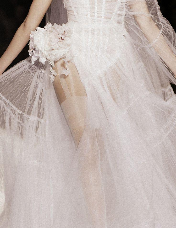 Jean-Paul Gaultier Haute Couture Spring/Summer 2009: Couture Details, Wedding Dressses, Jean Paul Gaultier, Fashion, Christian Dior, Bridal Lingerie, Dresses, Jeans Paul Gaultier, Haute Couture
