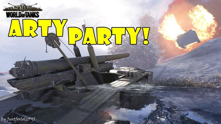 World of Tanks - Funny Moments | ARTY PARTY! #35