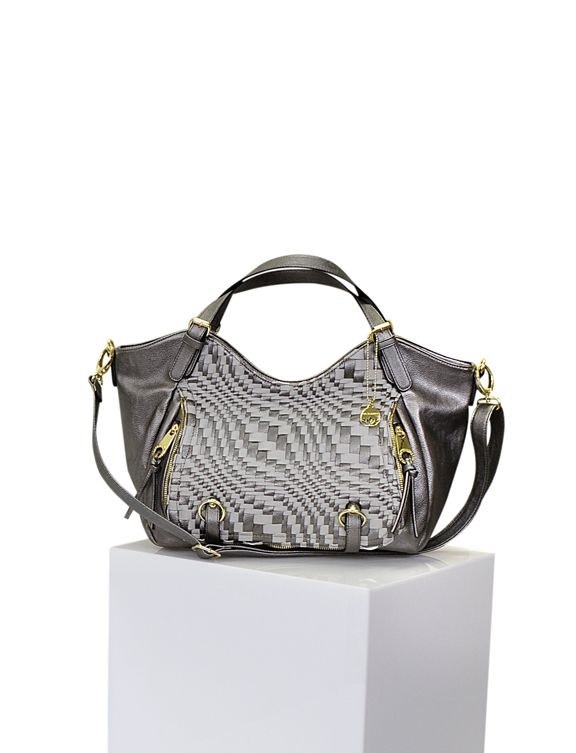 A handbag with details adds a confident charm to your look. #BurkesOutlet #MyStyleContest