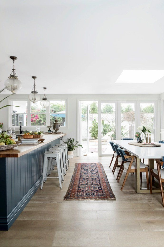 Step Inside The Heirloom Filled Beach House Of Our Dreams Open Concept Kitchen Living Room Beach House Interior Home Decor Kitchen