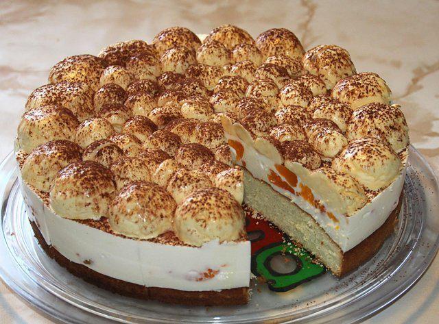 Das perfekte Vogelsberger Schneeball-Torte-Rezept mit Bild und einfacher Schritt-für-Schritt-Anleitung: Eiweiß steifschlagen, dabei Zucker einrieseln…