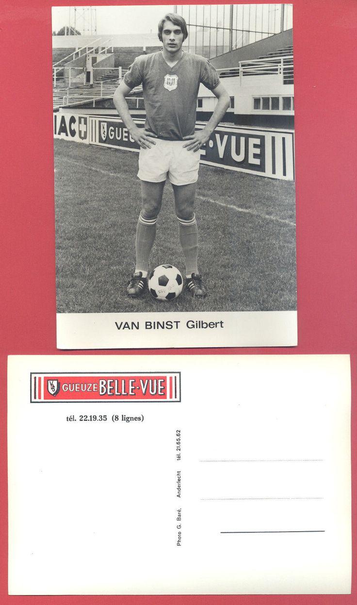 Carte Postale R S C A Gilbert VAN Binst Gueuze Belle VUE | eBay