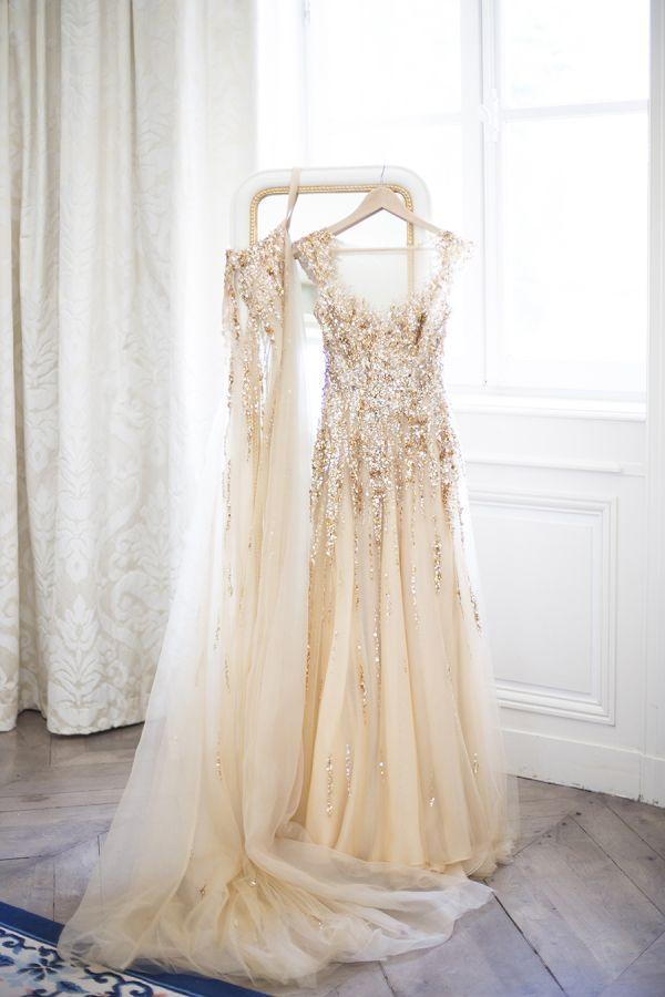 Best 25 Gold wedding gowns ideas on Pinterest Gold wedding gown
