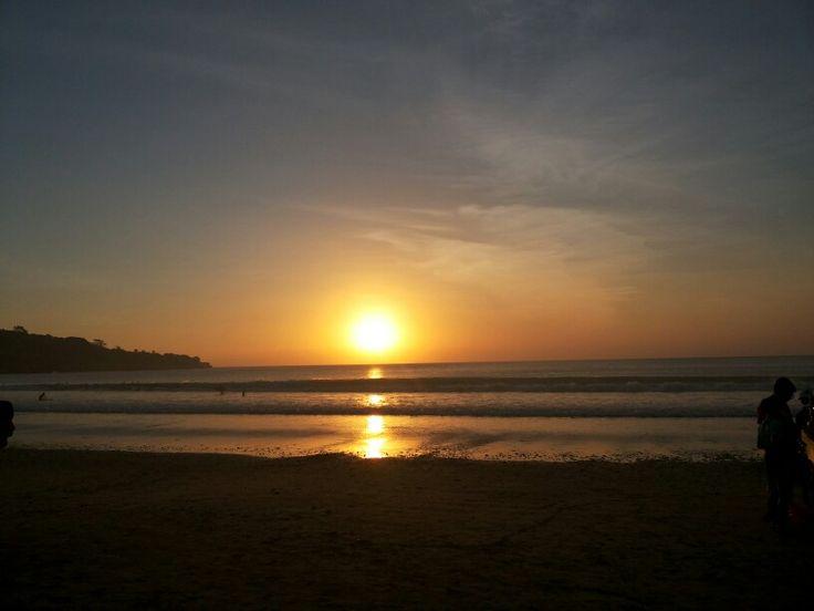 Sunset @Jimbaran Jingga