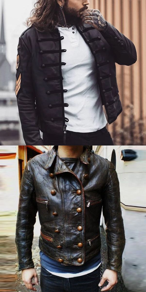Vintage Style Men S Jacket Jacket Mens Style Vintage Wintermenjacket Mens Leather Jacket Vintage Mens Fashion Wear Mens Jackets