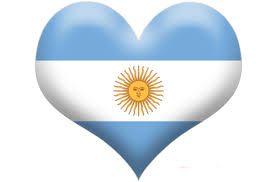 Resultado de imagen para bandera argentina clipart