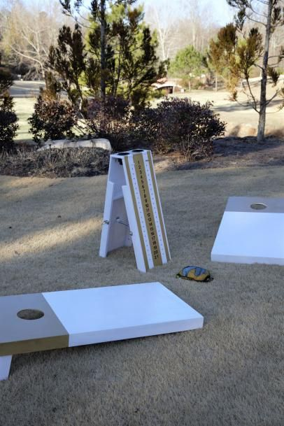 We share instructions on how to build a cornhole scoreboard to complete your cornhole set just in time for a big tailgate.