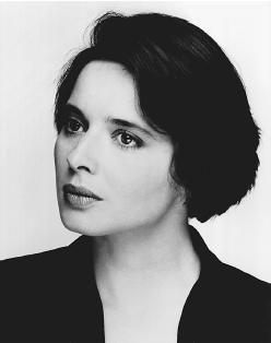Isabella Rossellini. Italian actress, filmmaker, author, philanthropist, and model. Daughter of Swedish actress Ingrid Bergman and Italian film director Roberto Rossellini.