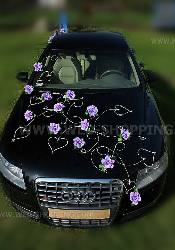 20 best images about voiture mariage on pinterest car for Decoration voiture mariage