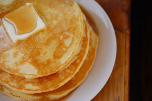 Basic Pancake Mix--Say goodbye to Aunt Jemima! Once you taste these homemade pancakes, I think you'll agree they're much better than the boxed kind!
