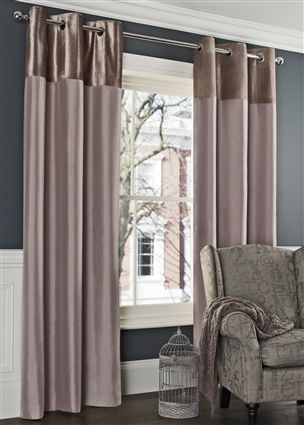 Buy Mink Ella Eyelet Curtains From The Next UK Online Shop