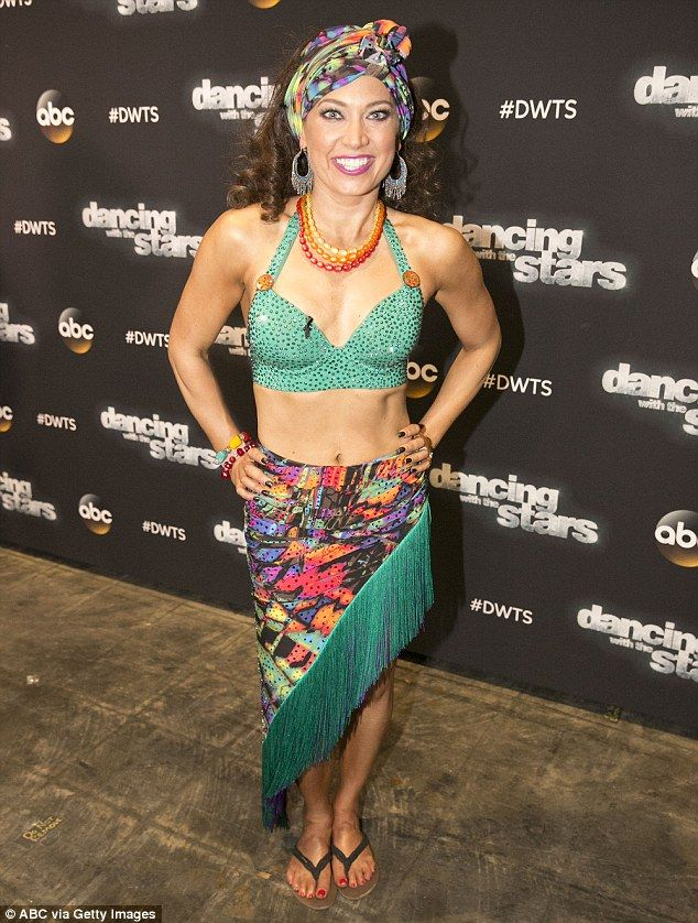 What a relief! Ginger Zee shared her shocking weight loss following Dancing with the Stars - it was much less than she thought - but admitted it was comforting to know she was 'supposed to be 138 pounds'