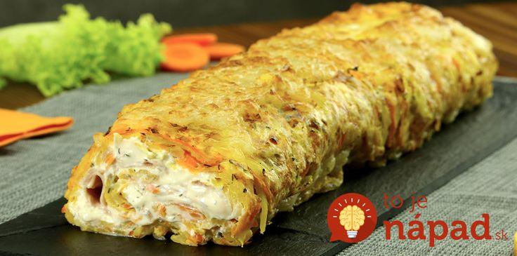 My zemiakové placky odteraz pripravujeme už len takto-ako fantastickú zemiakovú roládu.
