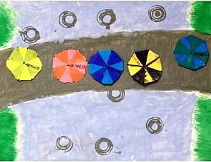 le film Le parapluie jaune (extrait) chez Fred