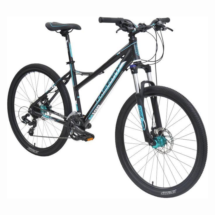 Factory M140 MTB 24 Speed Bike - Black/Teal - 8303