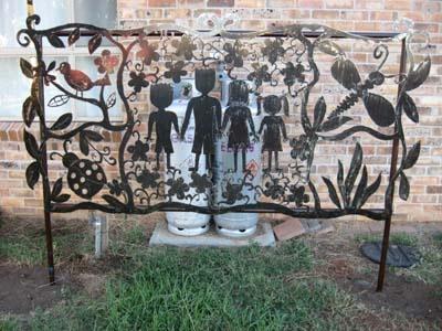 Decorative Metal Screen For The Garden. Decorative ScreensDecorative ...