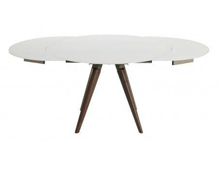 78 best id es propos de table ronde rallonge sur. Black Bedroom Furniture Sets. Home Design Ideas