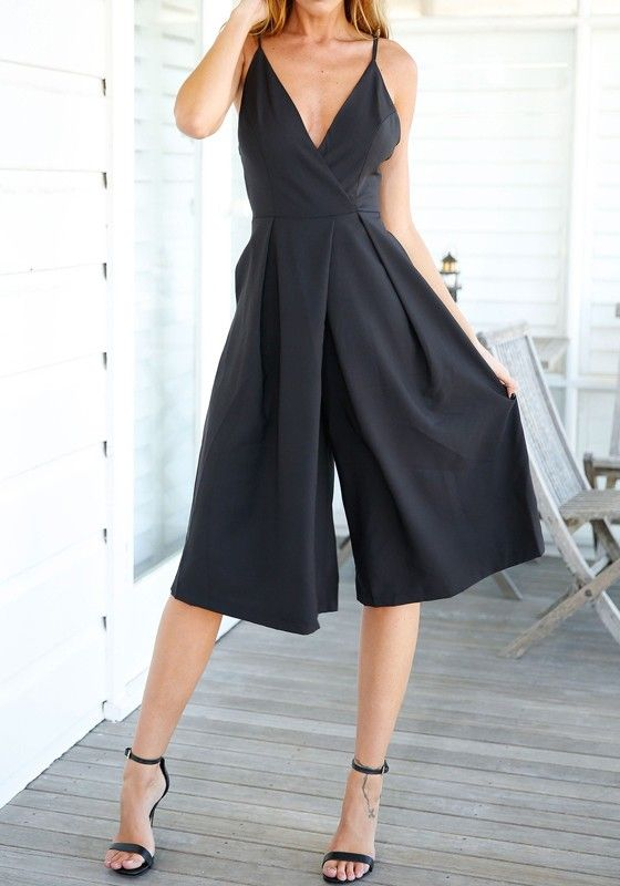 loving this jumpsuit! totally appropriate for something formal like a wedding