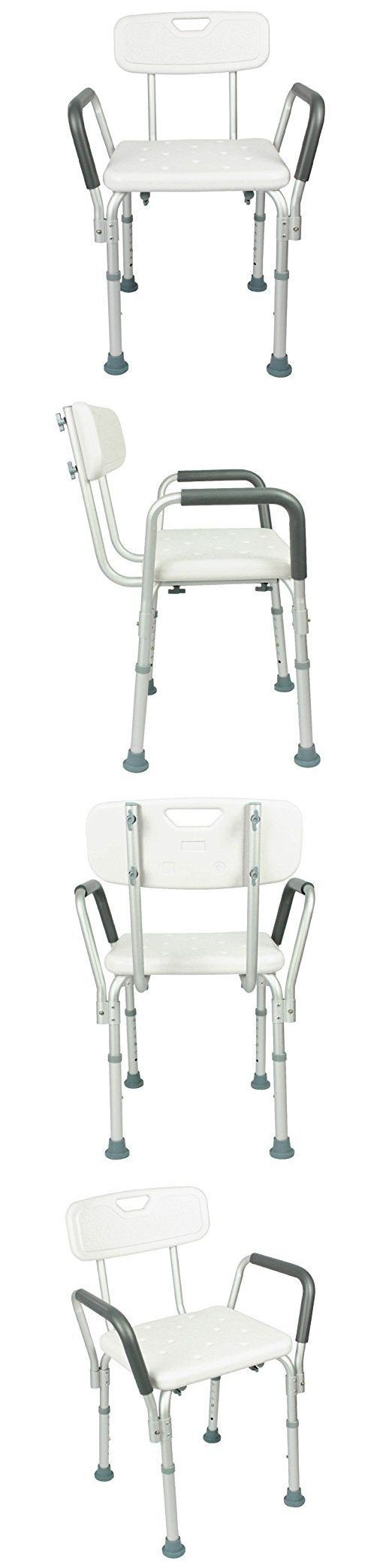 Shower and Bath Seats: Shower Chairs Height Adjustable Seat Stool Bath Tubs Grip Safety Toilet Handicap -> BUY IT NOW ONLY: $77.01 on eBay!