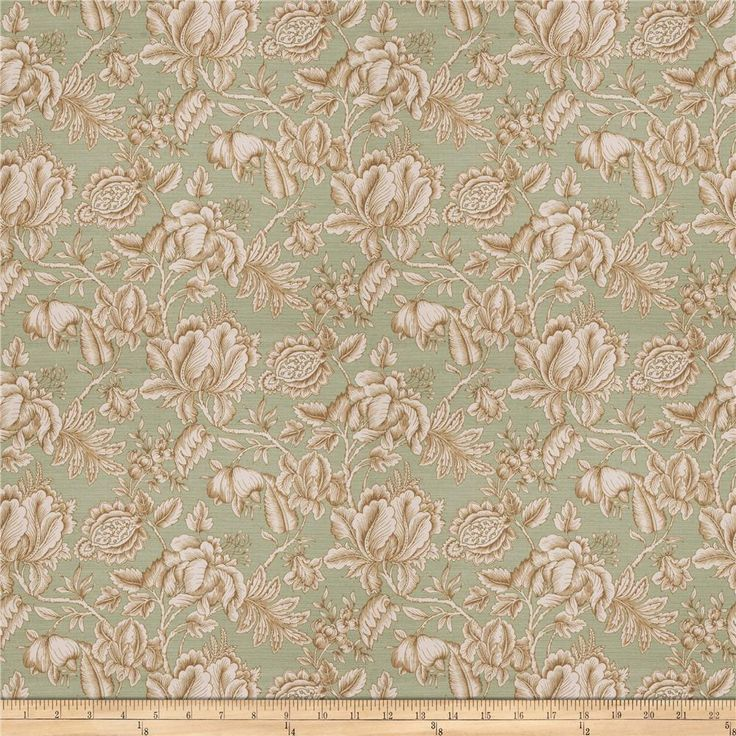 Trend 03668 Spa from @fabricdotcom  Screen printed on 100% cotton canvas, this medium/heavyweight fabric features a floral pattern and is perfect for window accents (draperies, valances, curtains, and swags), accent pillows, duvet covers, and upholstery projects.