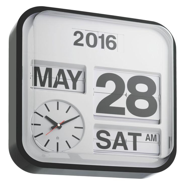 Flap Analogue Wall Clock