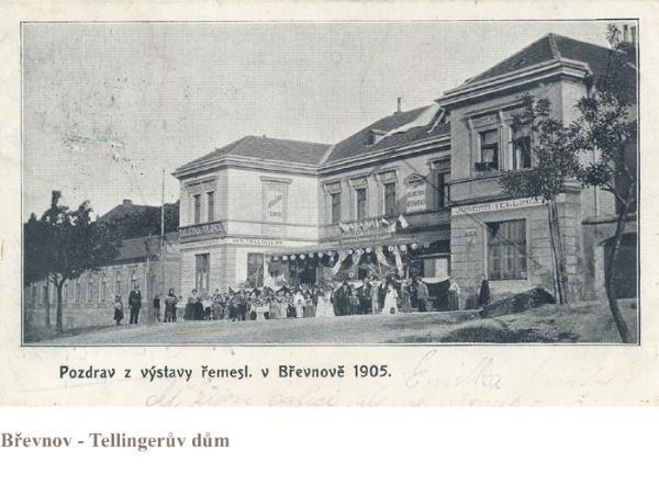 Břevnov Tellingerův dům
